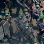 Myanmar forces use violence again against protesters